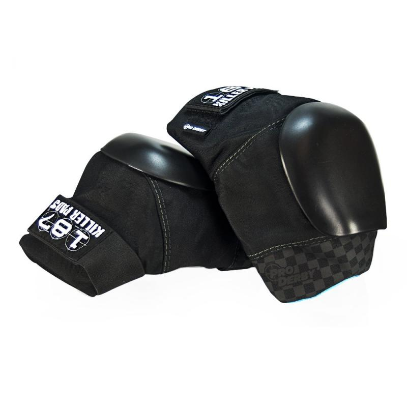 187 pro roller derby knee pads in stock at Bigfoot Bike & Skate, Milwaukee, WI.
