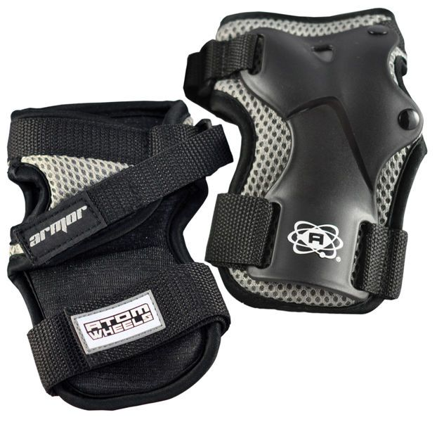 ATOM gear elite palm saver wrist guards at Bigfoot Bike and Skate.