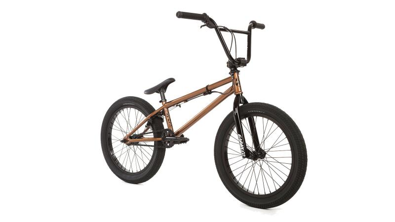"FIT BMX 2018 PRK (root beer) 20"" bicycle @ Bigfoot Bike & Skate, Milwaukee, WI."