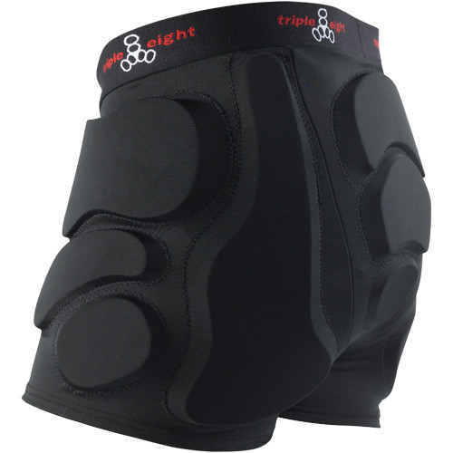 Triple Eight roller derby bumsavers padded shorts at Bigfoot Bike & Skate.