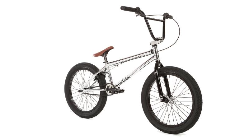 "FIT BMX 2018 TRL (chrome) 20"" bicycle @ Bigfoot Bike & Skate, Milwaukee, WI."