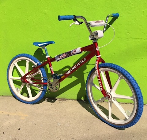 "S.E. Racing 24"" Floval Flyer BMX cruiser at bigfoot Bike & Skate, Milwaukee, WI."