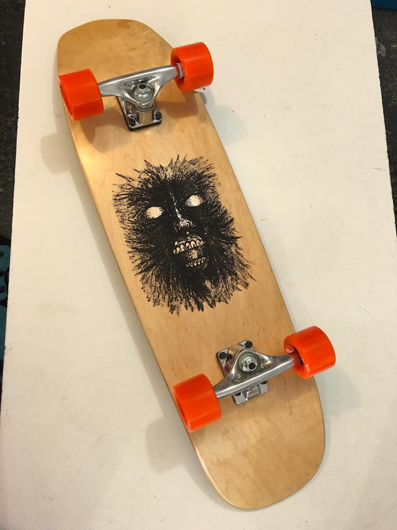 Bigfoot skateboards (monster) at Bigfoot Bike and Skate, Milwaukee, WI.