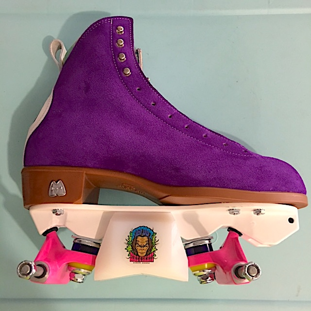 a5633651232ba4 Aggressive roller skate plates with bigfoot slider blocks. aggressive roller  skates