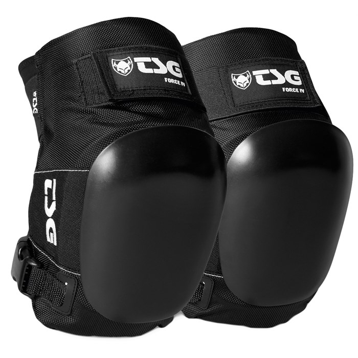TSG Force IV four knee pads at Bigfoot Bike and Skate, Milwaukee, WI.